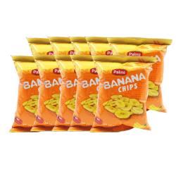 印尼 PALMI/派迷 原味香蕉片50G*10包(包邮发货)