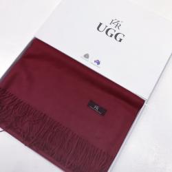 澳大利亚IZR UGG 3号枣红色围巾 尺寸200*70cm 25%羊绒(香港直邮)