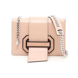 Prada 普拉达 女士粉色牛皮单肩包 1BD067-2EBU-F0333(香港直邮)