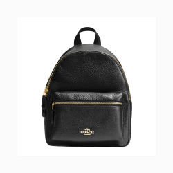 Coach 蔻驰 女士双肩包休闲时尚旅行背包 F28995IMBLK(香港直邮)