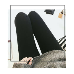 纪梵希连裤袜丝显瘦防勾丝1900D加厚羊绒混纺裤袜 黑色(1900D)零下2度以内穿 均码(85-160以内)(香港直邮)