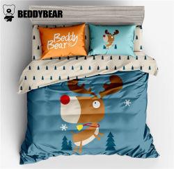 韩国杯具熊 BeddyBear 麋鹿款床上用品四件套小号 适用于1.2米的床(完税仓包邮发货)