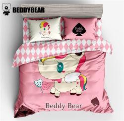 韩国杯具熊 BeddyBear 独角兽款床上用品四件套小号 适用于1.2米的床(完税仓包邮发货)