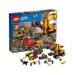 LEGO乐高 城市组系列City采矿专家基地7-12岁(包邮包税)