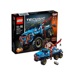 LEGO乐高 机械组Technic 6x6全地形卡车11-16岁 科技系列拼插积木 42070(包邮包税)
