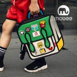 Mobee 莫贝二次元儿童书包小孩学生包男女孩双肩背包(完税仓包邮发货)