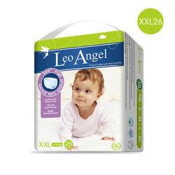狮子座天使(Leo Angel) 超薄透气干爽绵柔拉拉裤XXL26(>30斤)婴儿学步裤英国原装进口