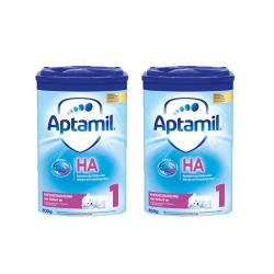 德国直邮【包邮包税】Aptamil 德国爱他美半水解奶粉HA 婴幼儿奶粉 1段(0-3个月)800g*2罐