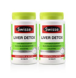Swisse奶蓟草护肝片 肝脏排毒120粒*2瓶 包邮包税澳大利亚