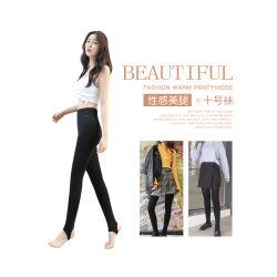 【女神必备】韩国Let's diet 10号加绒保暖提臀瘦身袜-黑色