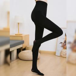 【女神必备】韩国Let's diet 6号加厚提臀瘦腿连体袜-黑