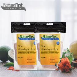 【2件装】Nature First 喜马拉雅粉红岩盐玫瑰盐 细盐 500g/袋