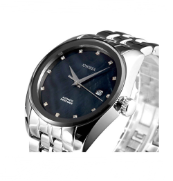 Jowissa 左薇莎 瑞士男士全自动机械手表 表盘颜色可选