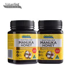 【2瓶装】Nature First 麦卢卡蜂蜜mgo250+ 500g/瓶