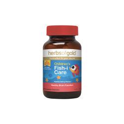 澳洲Herbs of Gold 和丽康 儿童鱼油 60粒(包邮包税)