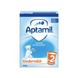 新版 Aptamil德国爱他美 婴儿奶粉 5段/2+段 600克 2岁以上(德国直邮)