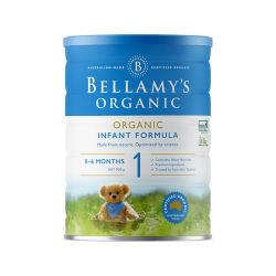 澳洲直邮【包邮包税】Bellamy's贝拉米1段 有机婴儿牛奶粉(0-12个月)900g*6罐 (新包装)