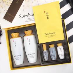 韩国Sulwhasoo 雪花秀滋阴水乳两件套装(新旧包装随机发货)(香港直邮)