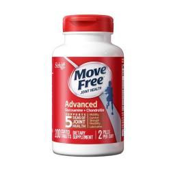 SCHIFF MOVEFREE氨基葡萄糖维骨力氨糖软骨素 红瓶 200粒