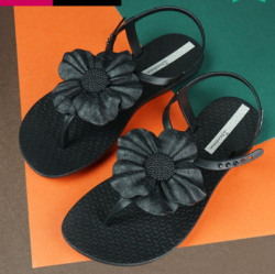 Ipanema 平底罗马女鞋ins潮网红女凉鞋 黑色 尺寸可选