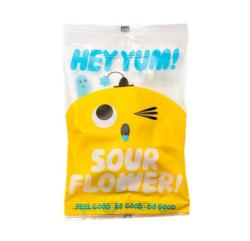 HEY YUM!Sour Flower水果软糖 花朵 100g