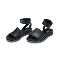 Zaxy 平底高帮宽搭带防水果冻凉鞋 黑色 海外直邮 包邮包税 尺寸可选
