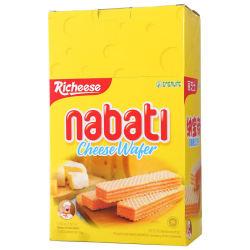 印尼进口丽芝士(Richeese)纳宝帝奶酪威化饼干200克
