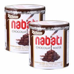 印尼 丽芝士纳宝帝巧克力味威化饼干350g*2 【一般贸易有中文标签】