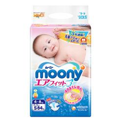 尤妮佳Moony纸尿裤 S84标准装