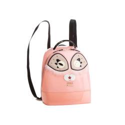 【香港直邮】QH Furla 芙拉 女士粉色PVC双肩包 978647