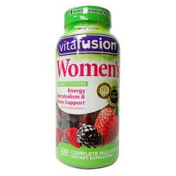 vitafusion维生素软糖女性维生素软糖220粒美国直邮 包邮包税