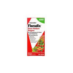 【德国直邮】Floradix Dragees红色铁元片剂84粒