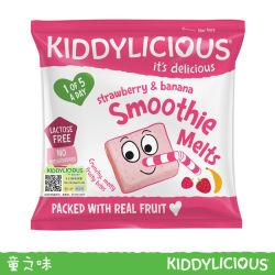 童之味牌草莓、香蕉水果溶溶豆6g