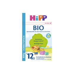 【保税仓】德国Hipp 喜宝 有机奶粉 12+ 800克 12个月以上(包邮包税)