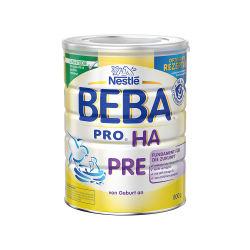 【德国直邮】Nestle BEBA 雀巢贝巴 HA 适度水解免敏奶粉 PRE段 800g 0-6个月