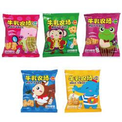 禾泱泱牛乳农场动物家族五连包饼干22g