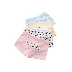 南极人 儿童内裤纯棉女童平角内裤 卡通奶牛(包邮)