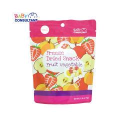宝贝顾问 宝宝零食 宝宝辅食 水果干 果蔬干 冻干水果 进口 水果蔬菜冻干片10g/每袋