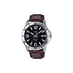 【香港直邮】 卡西欧(CASIO)手表时尚简约商务男士表 MTP-VD01L-1B(包邮包税)