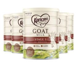 澳洲直邮【包邮包税】Karicare可瑞康羊奶粉3段 12M+ 900g* 6罐