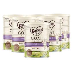 澳洲直邮【包邮包税】Karicare可瑞康羊奶粉2段 6-12M 900g*6罐