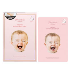 JM 婴儿美白面膜 2盒 韩国直邮 包邮包税 孕期哺乳期妈妈可用