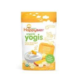 【4件装】Happybaby 禧贝 香蕉芒果酸奶溶豆(黃) 28g