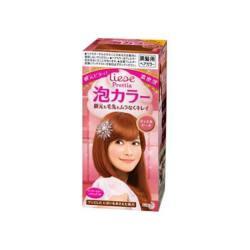 KAO/花王 PRETTIA泡沫染发膏珠光粉三件套 108G