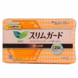 LAURÍER/乐而雅 丝薄卫生巾  S系列 17CM*38片