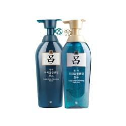 RYOE/吕 绿吕含光耀护损伤修护 洗发水 400ML + 护发素 400ML  组合装