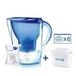 BRITA/碧然德  滤水壶 MARELLA金典系列一壶一芯  3.5L 蓝