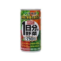 ITOEN/伊藤园 100%蔬果汁 绿黄色蔬菜混合蔬菜汁  190G