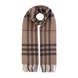 BURBERRY/巴宝莉 女士卡其色羊绒围巾 3743227