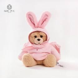 【郑恺联名】GOC IN C C&DUEPLAY联名款兔子熊热水袋安全防爆充电暖手宝  多色可选